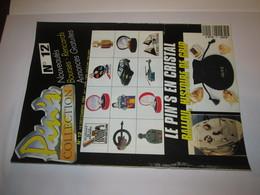 No Pin's  Revue Pin's  PIN'S  COLLECTION  Numero  12   , 15  DEC 1991 - Badges
