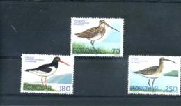 STAMPS - FAROES - 1977 BIRD SET UMM - Faroe Islands