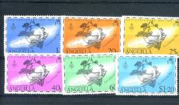 STAMPS - ANGUILLA - 1974 UPU SET UMM - Anguilla (1968-...)