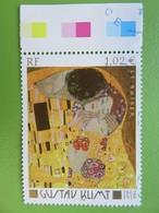 Timbre France YT 3461 - Série Artistique - Tableau De Gustav Kint - Le Baiser - 2002 - France