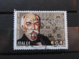 *ITALIA* USATI 2003 - 75° MORTE GIOLITTI - SASSONE 2708 - LUSSO/FIOR DI STAMPA - 6. 1946-.. Repubblica