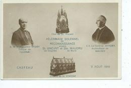 Casteau Pélérinage Solennel De Reconnaissance Envers St Vincent De Soignies Et Ste Waudru De Mons. - Soignies