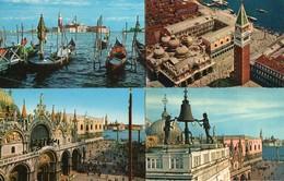 1 Set Lotto 9 Cartoline VENEZIA  Venedig Venice FP 2 VG San Giorgio Rialto Sospiri Palazzo Ducale - Venezia