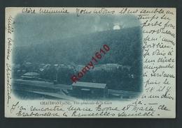Chaudfontaine. (Liège) La Gare - Circulé En 1898. Précurseur. 2 Scans. - Chaudfontaine