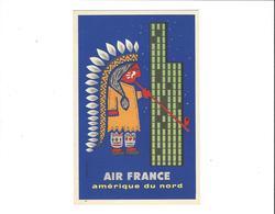 AIR FRANCE   AMERIQUE DU NORD         ***       A   SAISIR  ***** - Aviation