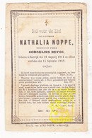 DP Nathalie Noppe ° Kortrijk 1811 † 1869 X Cornelius Devos - Images Religieuses
