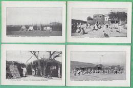 ETHIOPIE - ABYSSINIE - LOT DE 5 CPA DIFFERENTES - 2 SCANS - Ethiopia