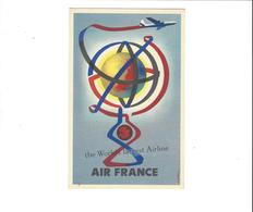 AIR FRANCE  THE WORLDS LARGEST AIRLINE    ***       A   SAISIR  ***** - Aviation