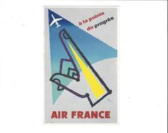 AIR FRANCE  A LA POINTE DU PROGRES   ***       A   SAISIR  ***** - Aviation