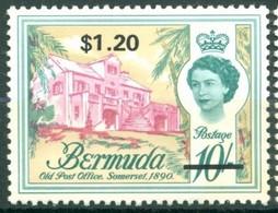Bermuda - 1969 -Yt 241 - Série Courante Surchargé - * Charnière - Bermudes
