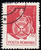 ROMANIA - Scott #3102 Wooden Flask, Suceava / Used Stamp - 1948-.... Republics