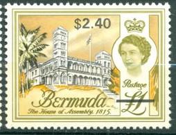 Bermuda - 1969 -Yt 242 - Série Courante Surchargé - * Charnière - Bermudes