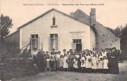 HEUILLEY-COTTON - L'Ecole Libre - Distribution Des Prix Aux Elèves (1913) - Other Municipalities