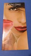 1 Livret Lancome Allemand - Perfume Cards
