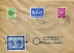 41368 Germany Sowiet Occupation, Cover Circuled 1948 From Grossen-mulde To Zwickau - Sowjetische Zone (SBZ)