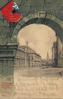 1902 - NOVY JICIN, WAPPEN KARTE, Gute Zustand, 2 Scan - Czech Republic