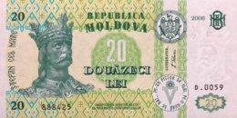 Moldavia 20 Lei, P-13h (2006) - UNC - Moldawien (Moldau)