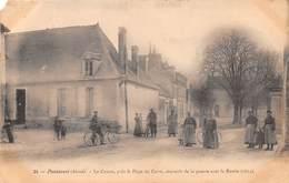 PONTAVERT - Le Canon, Près La Place Du Carré, Souvenir De La Guerre Avec La Russie (1814) (vendue En L'état) - Other Municipalities