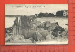 LOCQUIREC : Vue Prise De La Roche Penchée - Locquirec