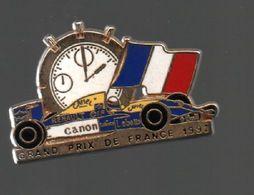 Pin's F1. GRANP PRIX DE FRANCE 1992 PAR LOCOMOBILE ( 94).ATTACHE 2 POINTS .....BT4 - Car Racing - F1