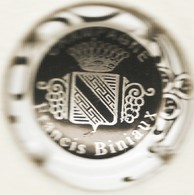 Biniaux Francis N°4a, Noir, Contour Blanc - Champagne