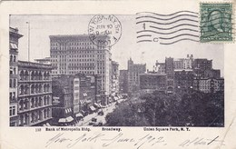 Bank Of Metropolis Building, Broadway, Union Square Park, New York, NY (pk54053) - Brooklyn