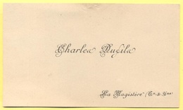 Biglietto Da Visita - Charles Dufils - Lamagistère (Tarn-et-Garonne) - Cartes De Visite