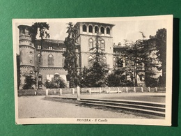 Cartolina Piovera - Il Castello - 1952 - Alessandria