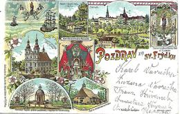 1908/10 - FRYDEK-MISTEK, Gute Zustand, 2 Scan - Czech Republic