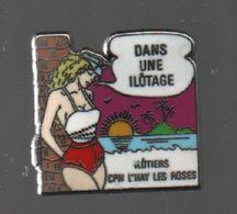 Pin's CPM L'HAY LES ROSES PAR PLESSIS PARIS.....BT4 - Police