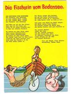 Germany - Fischerin Vom Bodensee - Femme - Girl - Woman - Frau - Comic - Scherzkarte - Humor Karte - Pin-Ups
