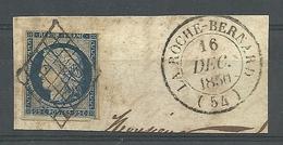 N° 4 SUR FRAGMENT LA ROCHE BERNARD 54 - 1849-1850 Cérès