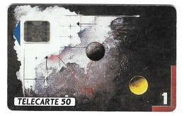 Télecarte NSB En 253 SCHLUMBERGER Tableau De J. Grassa 12 91 - France