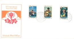 AITUTAKI - 1.10.1979 - FDC - YEAR OF THE CHILD - Yv 236-238 - Lot 18857 - Aitutaki
