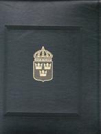 Cartella E Custodia Postiglione 22 Anelli  Come Nuova Stemma Svezia - Stamp Boxes