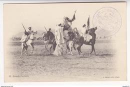 Au Plus Rapide Debdou Maroc Oriental 30 Janvier 1915 Sceau D'un Caïd Dépossédé Grande Fantasia Geiser Alger - Guerre 1914-18