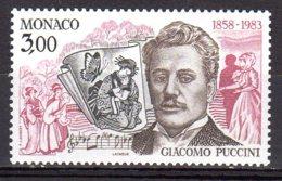 MONACO YT N° 1390 Neuf Giacomo Puccini Lot 338 - Monaco