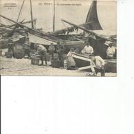 76-YPORT LA PREPARATION DES LIGNES - Yport