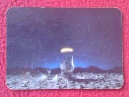 SPAIN CALENDARIO DE BOLSILLO CALENDAR BOMBILLA LIGHTBULB LUZ ELÉCTRICA AMPOULE LIGHT BULB ROTA BROKEN 1989 VER FOTO/S - Calendarios