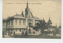 ASIE - CAMBODGE - EXPOSITION NATIONALE ET COLONIALE DE MARSEILLE 1922 - Théâtre Cambodgien - Cambodia