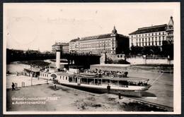C1641 - Donau Schifffahrt - Dampfer Hebe Schaufelraddampfer Wien Augartenbrücke - A. Stefsky - Paquebots