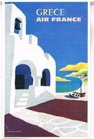 AVIONS AIR FRANCE  GRECE PUB CPM    AV288 - 1946-....: Modern Era