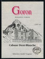 Rare // Etiquette De Vin // Montagne // Goron, Cabane Dent-Blanche - Montagnes