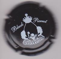 Capsule Champagne PETIT_LE BRUN Et Fils ( 6 ; BLACK PIERROT ) {S03-19} - Champagne