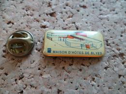 PIN'S   EDF  MAISON D'HOTES DE BLYES - EDF GDF