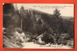 TRK-14 Gex, Route De La Faucille, Fontaine Napoléon Et Mont Turet. . Hotel De La Faucille. Circulé - Gex
