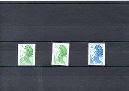 FRANCE N°2423/5 - Unused Stamps