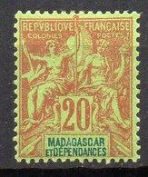 Col11    Madagascar  N° 34 Neuf X MH : 9,50 Euros - Madagascar (1889-1960)