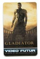 Carte VIDEO FUTUR - N°144 - Film De Cinéma Gladiator - Peplum - Frankrijk