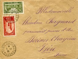 41380 Morocco, Circuled Cover 1926  To France  (poste Aux Armees !!) - Maroc (1956-...)